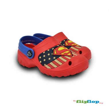 Superman Logo Sandals - 5741