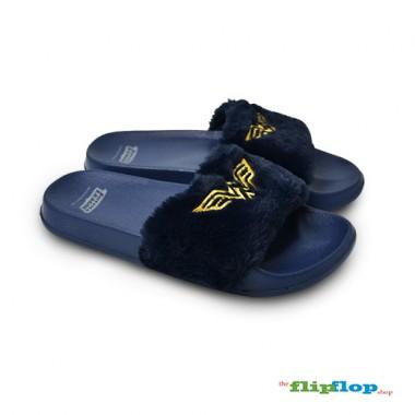 Wonderwoman Furry Sandals - 5830