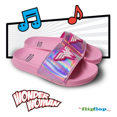 Wonderwoman Logo Sandals - 5835