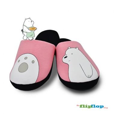 We Bare Bears Indoor/Bedroom Slippers - 86171