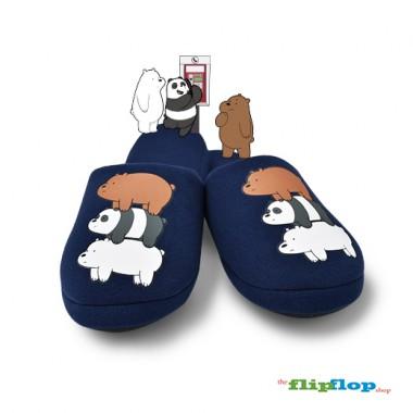We Bare Bears Indoor/Bedroom Slippers - 86173