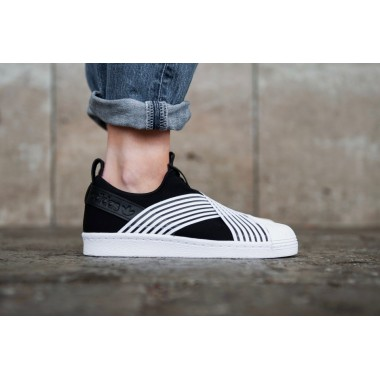 ADIDAS SUPERSTAR SLIP-ON SHOES - D96703