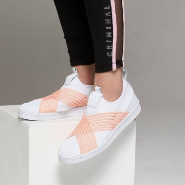 ADIDAS SUPERSTAR SLIP ON WMNS SHOES – D96704