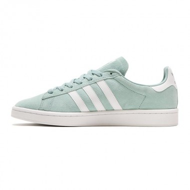 ADIDAS CAMPUS GREEN/WHITE SHOES - BZ0082